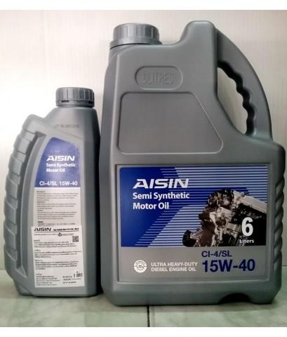 น้ำมันเครื่องดีเซล AISIN 15W-40