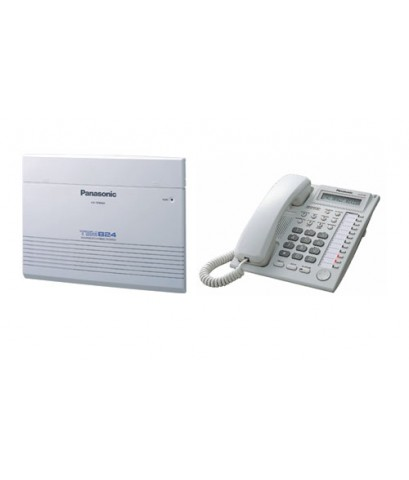 Panasonicตู้สาขาโทรศัพท์ระบบHybrid PBX พานาโซนิครุ่นKX-TEM824BX