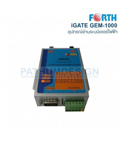 อุปกรณ์ iGATE FORTH รุ่น GEM-1000 สำหรับระบบอ่านมิเตอร์ไฟฟ้าอัตโนมัติ