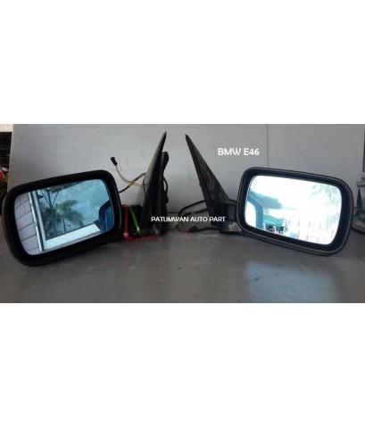 กระจกมองข้าง ไฟฟ้า 5 สาย BMW E46 Sedan (บีเอ็มดับเบิ้ลยู อี46 ซีดาน)