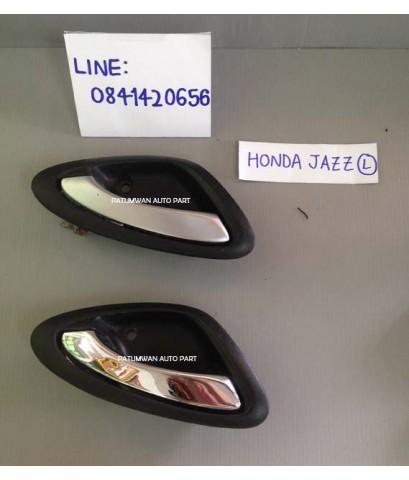 มือเปิดประตูในรถ Honda Jazz GD (ฮอนด้า แจ๊ส ตัวแรก) ปี 2001-2008 ฝั่งซ้าย