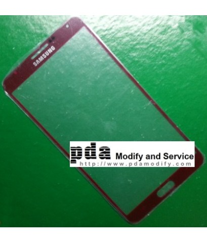 กระจกกันหน้าจอ Original red Screen glass lens Samsung Galaxy Note3 N900