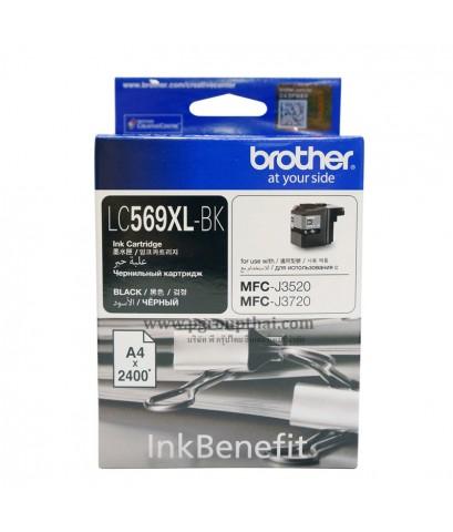 หมึกอิงค์เจ็ท Brother LC-569XLBK ดำ