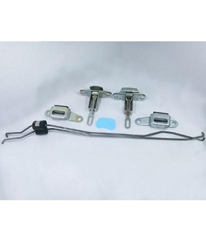 กลอนล็อคฝาท้ายอันกลาง+ลวดล็อค ISUZU D-MAX / L+R (0108017-018) ราคาต่อคู่