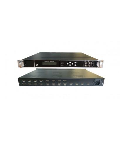 ENCODER Modulatar Digital DVB T INPUT 20 HDMI อุปกรณ์แปลงสัญญาณ HDMI