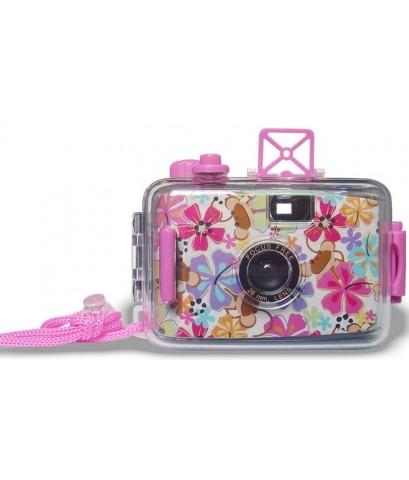 กล้องกันน้ำลายดอกไม้
