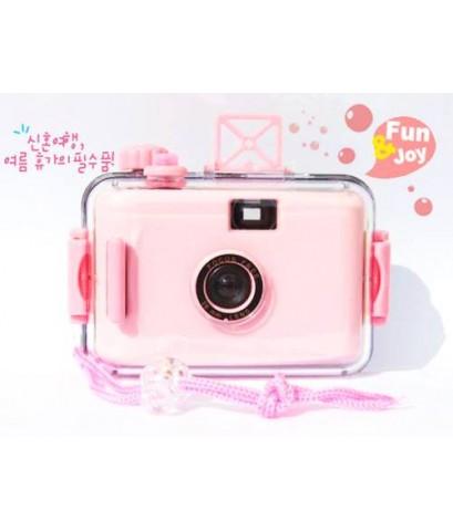 กล้องกันน้ำสีชมพู