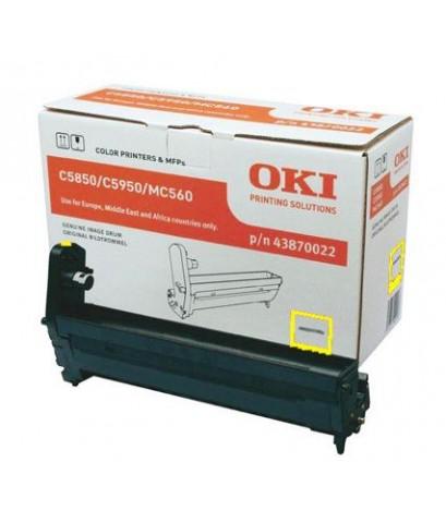 OKI DRUM-C5850Y