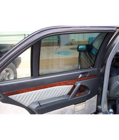 ติดฟิลม์กรองแสง Xtra-Cole สไตล์ Japan กับรถ Benz-S500