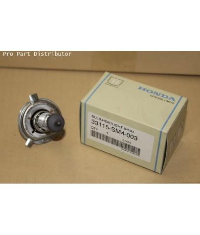 หลอดไฟหน้า อะไหล่แท้รถยนต์ ฮอนด้า ซีวิค HONDA CIVIC 96-03 (305) อะไหล่แท้รถยนต์(รหัส 33115-SM4-003)