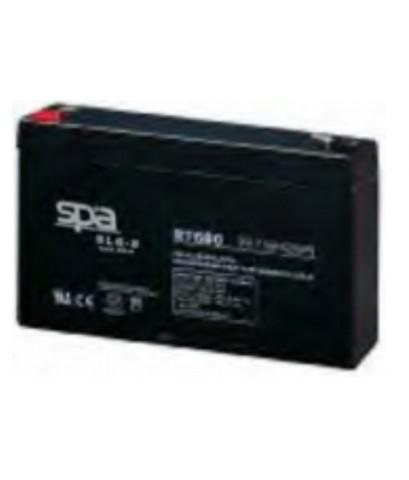 แบตเตอรี่แห้ง SPA สปา รุ่น SL6-8AH (6V 8AH)