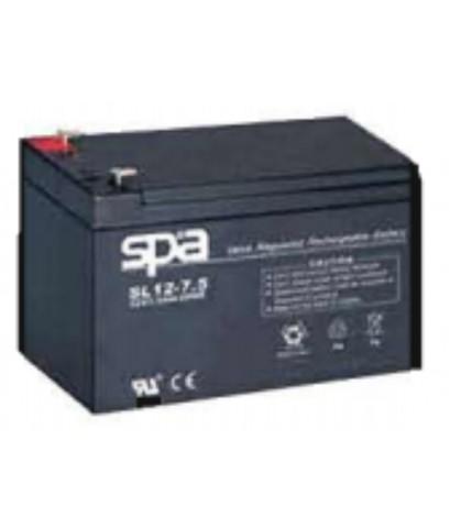 แบตเตอรี่แห้ง SPA สปา รุ่น SL12-7.2AH (12V 7.5AH)