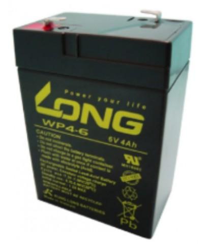 แบตเตอรี่แห้ง LONG รุ่น WP4-6 (6V-4AH)