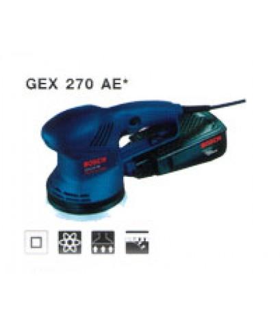 เครื่องขัดกระดาษทรายแบบลูกเบี้ยว GEX 270 AE*