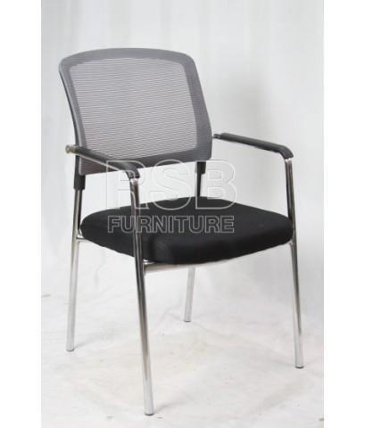 เก้าอี้สำนักงานไม่มีล้อ มีที่ท้าวแขน รหัส 2874