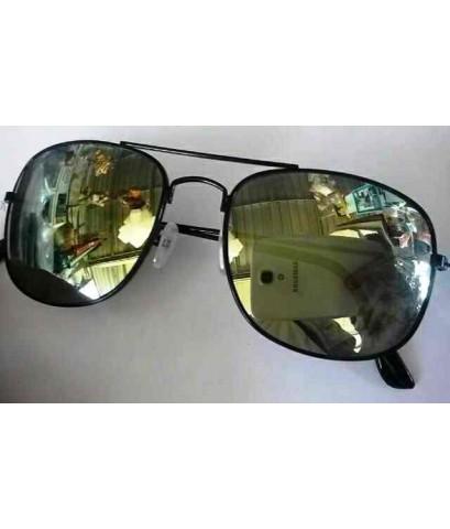จำหน่าย แว่นตาแฟชั่น ขอบเส้นสีดำ เลนส์ปรอท ยาว 13.5 cm (พร้อมส่ง) ราคาถูก