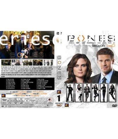 Bones Season 2/โบนส์ พลิกซากปมมรณะ ปี 2 (Sub Thai 6 แผ่นจบ)