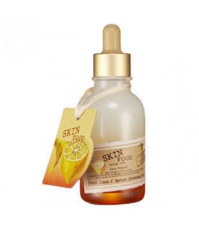 ผลิตภัณท์บำรุึงผิวหน้า Skinfood Fresh Juice C Serum ยอดสั่งซื้อสูงสุดของเซรั่มฟื้นฟูผิว