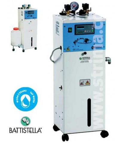 เตารีดไอน้ำ  BATTISTELLA  ขนาดหม้อต้มไอน้ำ 5 ลิตร  2 หัวเตา รุ่น PLUTONE ระบบปั๊มน้ำอัตโนมัติ