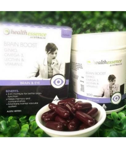( แบ่งขาย 30 เม็ด ) Health Essence Brain Boost 4 in 1 วิตามินบำรุงสมอง จากออสเตรเลีย