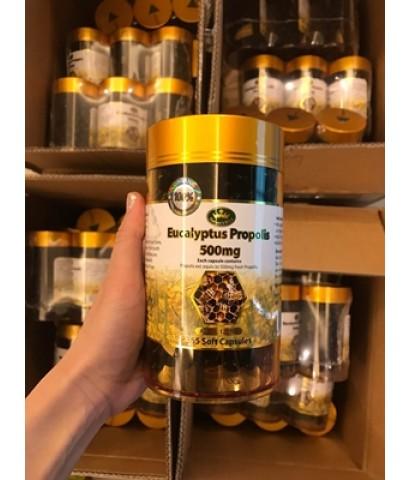 Nature's kingPropolis 500 mg. ขนาด 365 เม้ด จากออสเตรเลีย