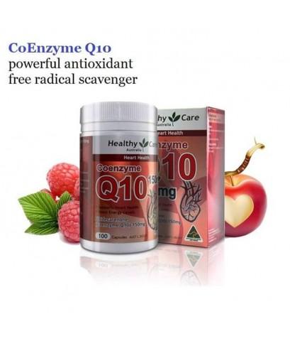 Australia! Healthy Care Coenzyme Q10 150mg 100 เม็ด โคเอนไซม์ Q10 ต้านอนุมูลอิสระ