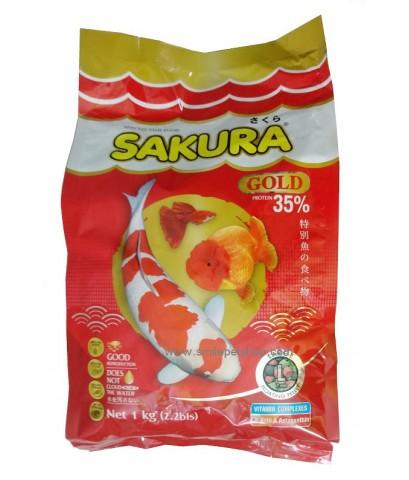 SAKURA GOLD 1 kg. เม็ด L