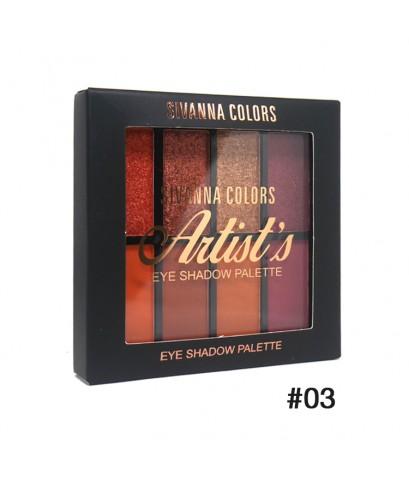 Sivanna Colors Artist\'s Eyeshadow Palette HF397 No.03 ราคาส่งถูกๆ W.80 รหัส ES106-3