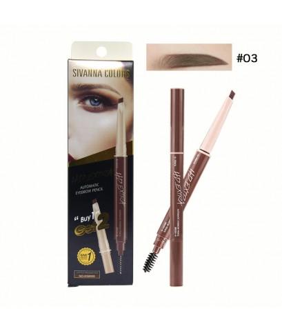 Sivanna Colors HD Extra Automatic Eyebrow Pencil No.03 ราคาส่งถูกๆ W.40 รหัส K23-3