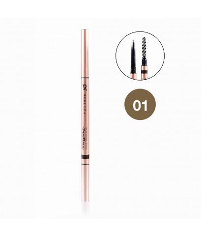 REBECCA Professional Skinny Brow Pencil ดินสอเขียนคิ้ว รีเบคก้า No.01 ราคาส่งถูกๆ W.30 รหัส K197