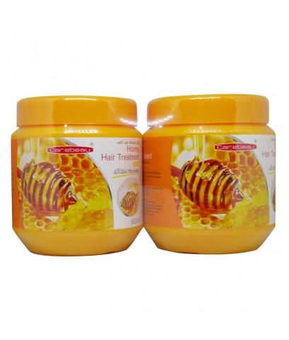 Carebeau Honey Hair Treatment Wax 500 ml. ทรีทเม้นท์แพ็คคู่ 1 แถม 1 ราคาส่งถูกๆ W. 1100 รหัส H169