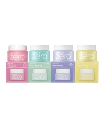 Banila Co. Clean It Zero Special Kit 4 itemsบาล์มล้างเครื่องสำอางค์ W.140 รหัส.FC117