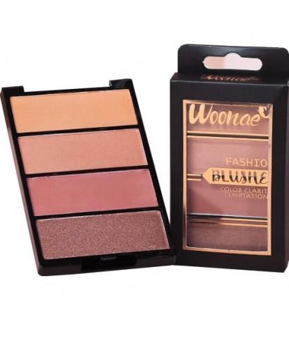 Woonae Blush on รุ่น Color Clarity Temotation No.03 W.100 รหัส.BO595
