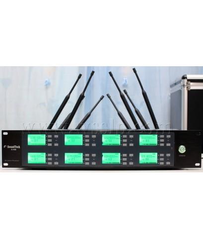 ชุดไมค์ประชุมไร้สาย SoundTech รุ่น X-H08