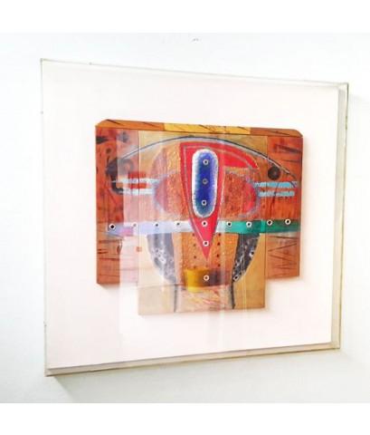 ศาสตราจารย์ กมล ทัศนาญชลี (ศิลปินสองซีกโลก) ผลงาน Nang-Yai 1994 จำหน่ายแล้ว !
