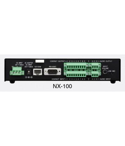 เครื่องแปลงสัญญาณเสียงผ่านเน็ตเวิร์ค TOA รุ่น NX-300