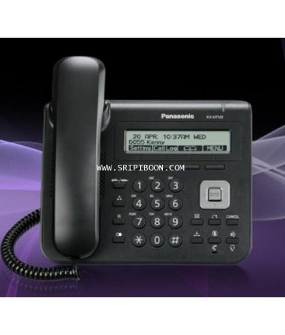 โทรศัพท์บ้าน Panasonic พานาโซนิค KX-UT123  Standard SIP terminal