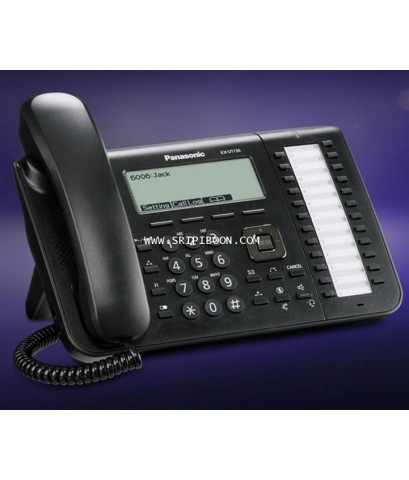 โทรศัพท์บ้าน Panasonic พานาโซนิค KX-UT136  Office SIP 6-line LCD terminal