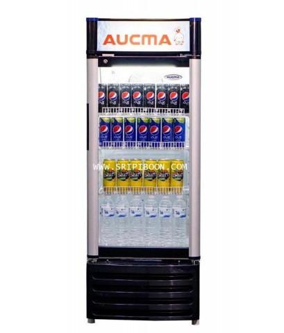 ตู้แช่เครื่องดื่ม AUCMA อ๊อกม่า SC-165E ขนาด 6 คิว บริการจัดส่งถึงบ้าน!.ฟรี สอบถามโทร. 02-8050094-5