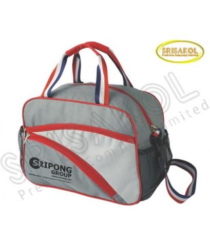 กระเป๋าเดินทาง สีเทาเข้ม สลับ สีเทาอ่อน รหัส A1831-20B