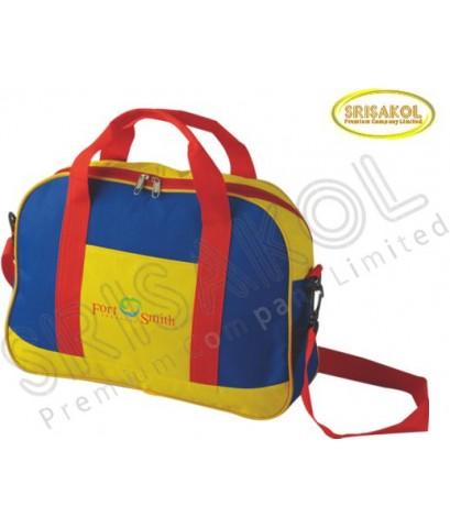 กระเป๋าเดินทาง สีเหลือง สลับ สีน้ำเงิน  รหัส A2016-19B