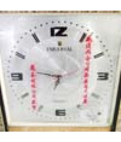 นาฬิกาแขวน กรอบไม้
