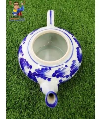 ชุดกาน้ำชาพร้อมถาดรอง เนื้อกระเบื้อง