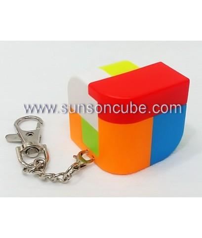 6 pieces Assembly Penrose Cubel - Keychian