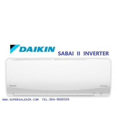 AIR DAIKIN   รุ่นSABAI II INVERTER  (FTKQ_SERIES)