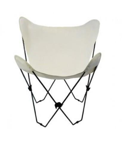 Algoma : AGM4053-00* เก้าอี้พับ Butterfly Chair Black Frame, Natural