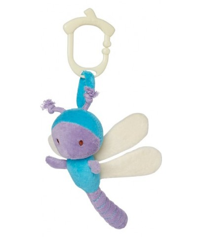 Green Point : GRP46301 ตุ๊กตาติดรถเข็น Clip\'n go Toy - dragonfly