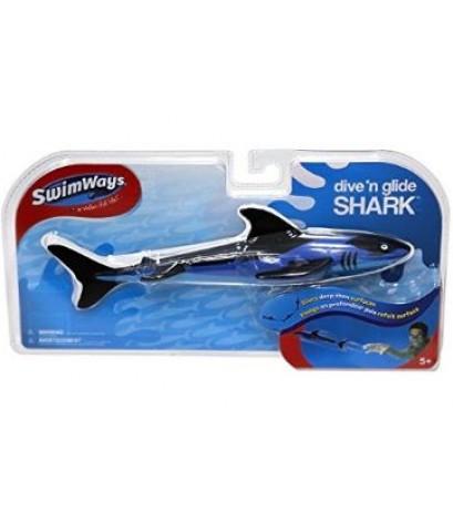 Swim Ways : SWY12336* ของเล่นในสระน้ำ Dive \'N Glide Shark