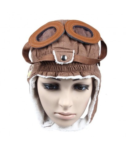 Kids Earflap Cap : KECAMZ001* หมวกเด็ก Warm Baby Kid Toddler Winter Earflap Pilot Cap