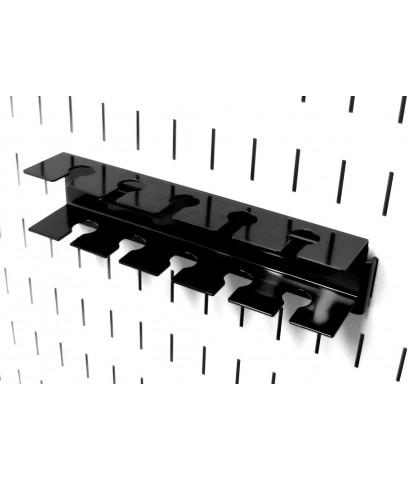 Wall Control : WCTASM-SL-008B* อะไหล่สำหรับติดบนเพ็กบอร์ด Pegboard Slotted Tool Holder Bracket